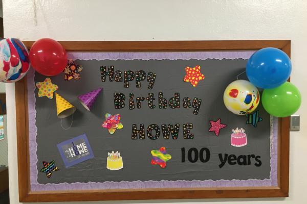 100th day board